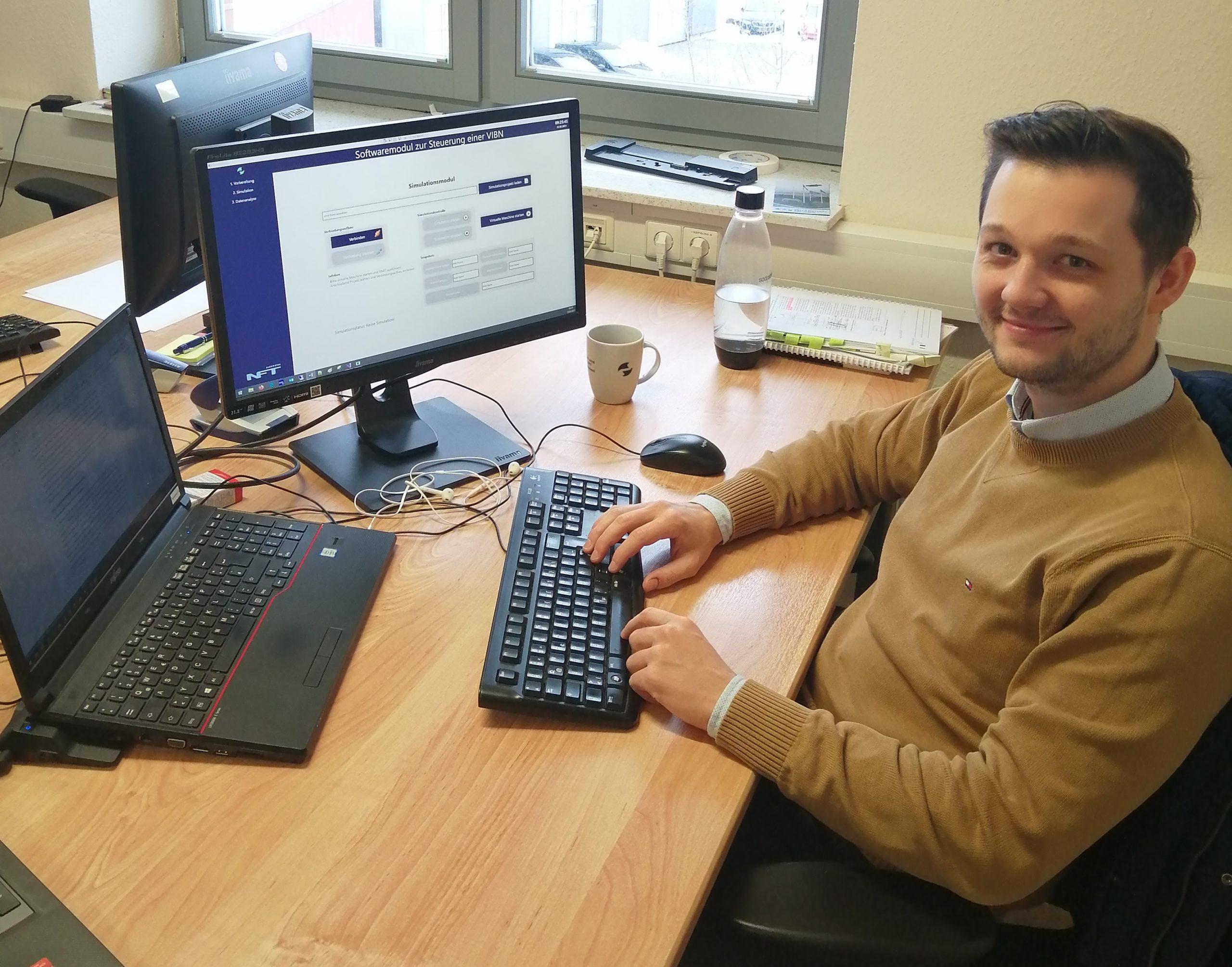 Bachelorand Alexander - AutomationML - virtuelle Inbetriebnahme